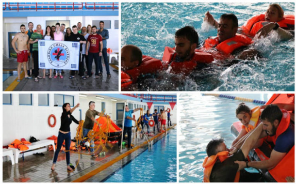 10 «ναυαγοί», 1 πνευστή σωστική σχεδία, 24 ώρες στη θάλασσα για τους αποφοίτους του εναλλακτικού τουρισμού!