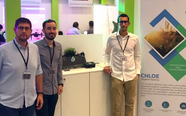Chloe Irrigation Systems, 2nd prize Trophy - Τροφή Challenge